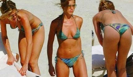 Jennifer Aniston en bikini