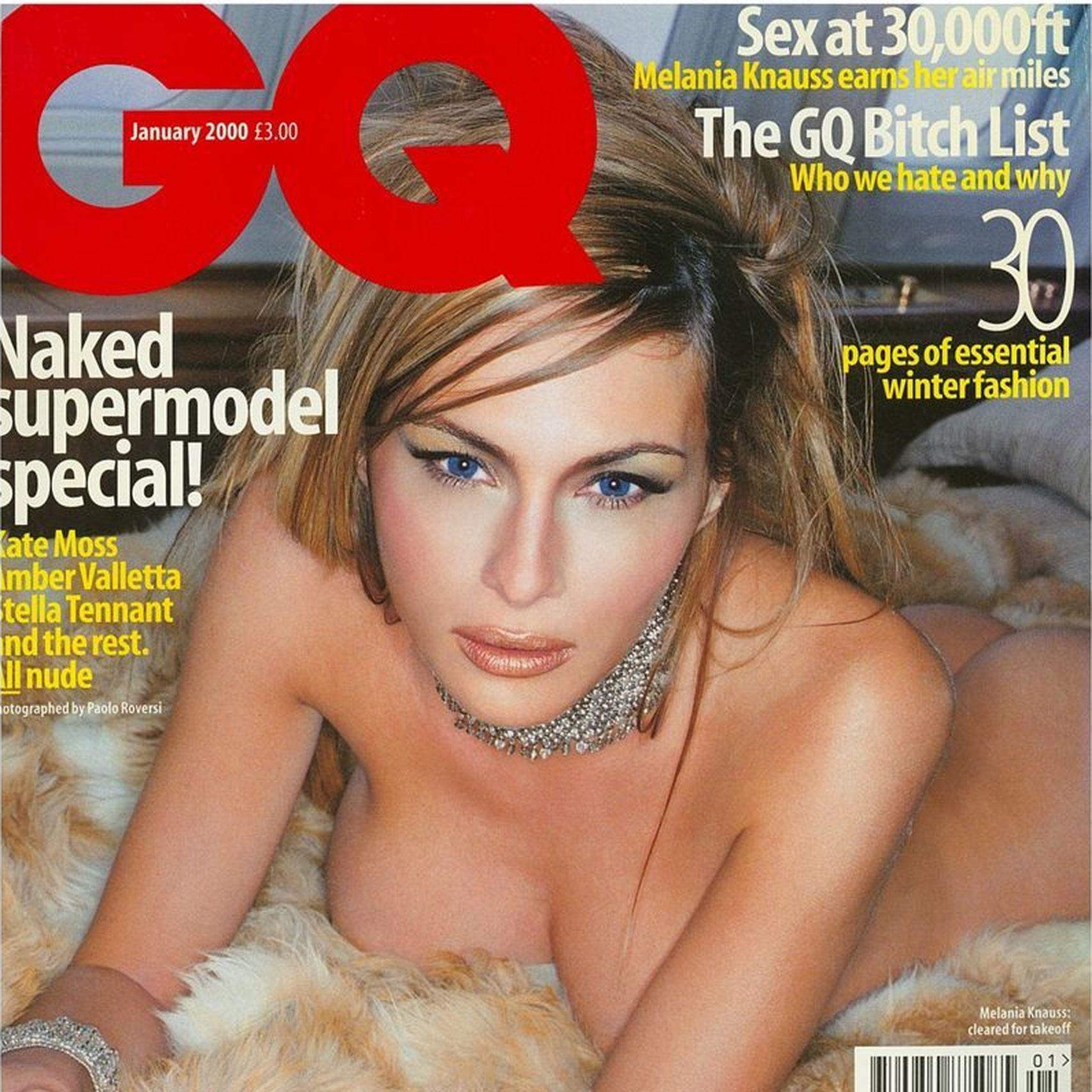 Melania Trump desnuda sin censura