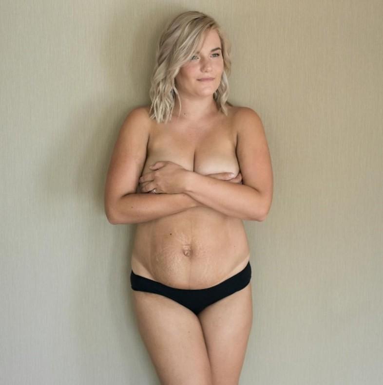Mujeres normales desnudas