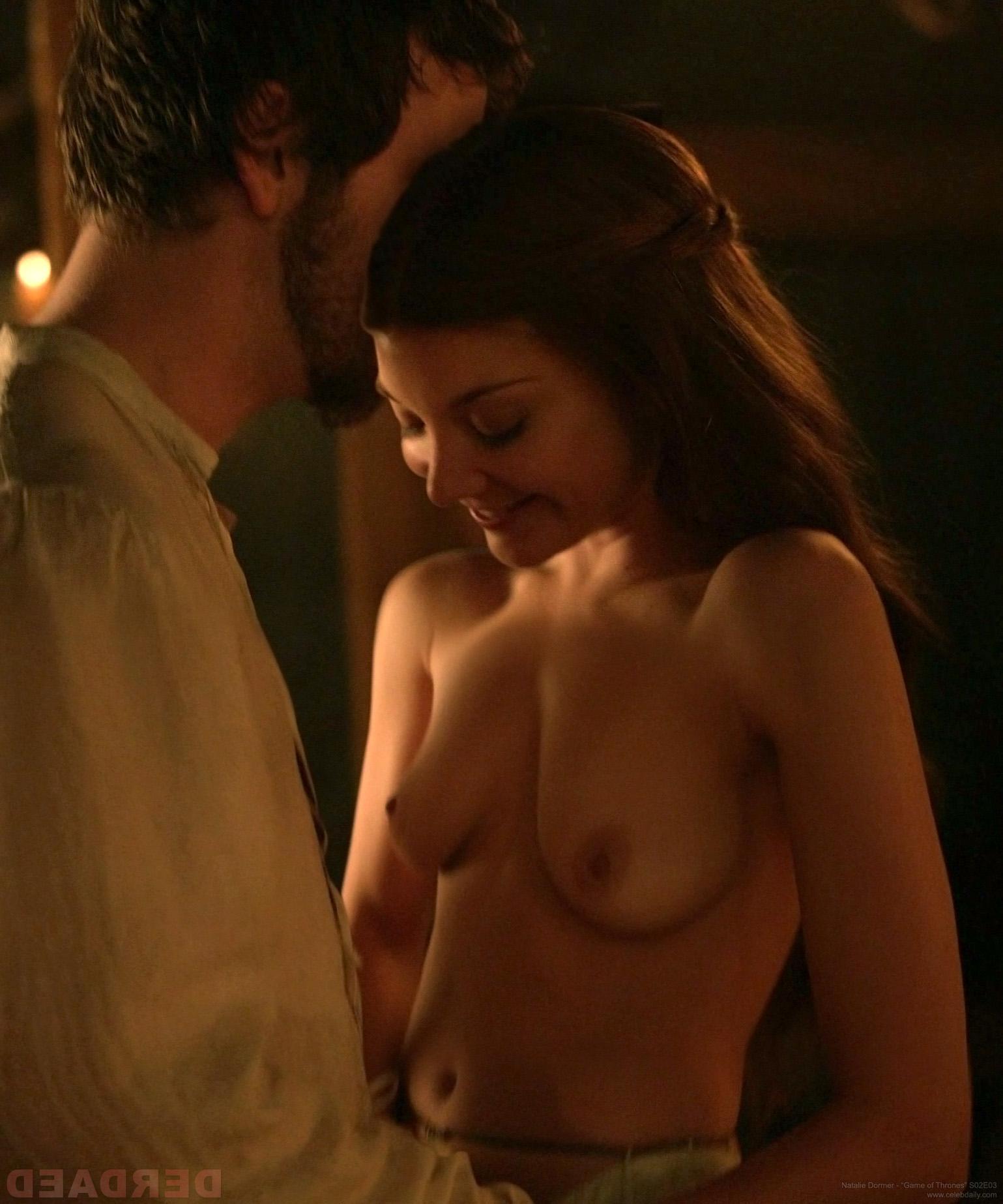 Natalie Dormer se desnuda