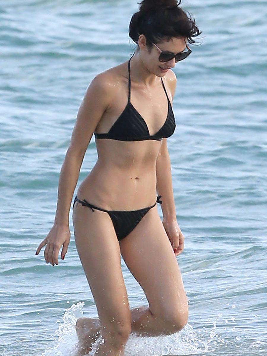 Olga Kurylenko bikini